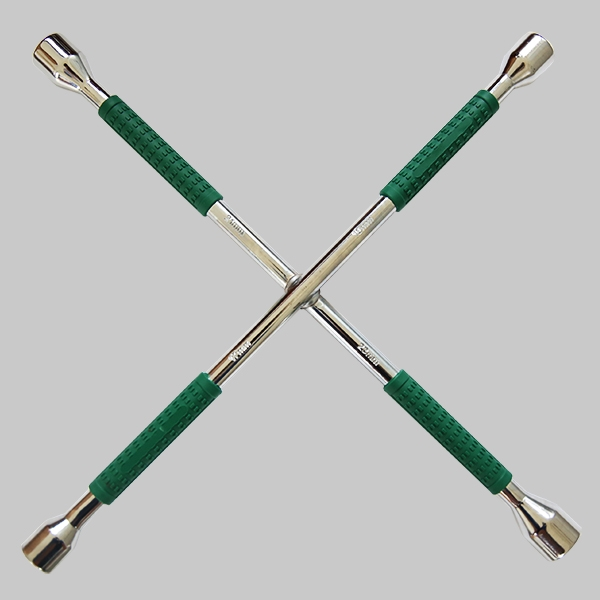 Cross Rim Wrench(Plastic Handle)