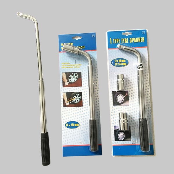 Extendable lug wrench(single blister packing)