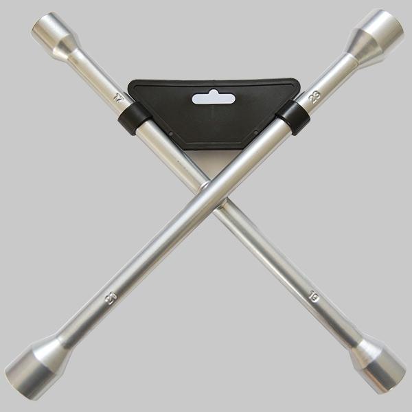 Cross rim wrench